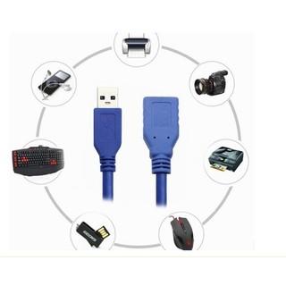 【USB 3.0 公對母延長線】1M USB延長線 傳輸線 數據線 USB插拔保護 抗干擾 公轉母 現貨供應 新北市