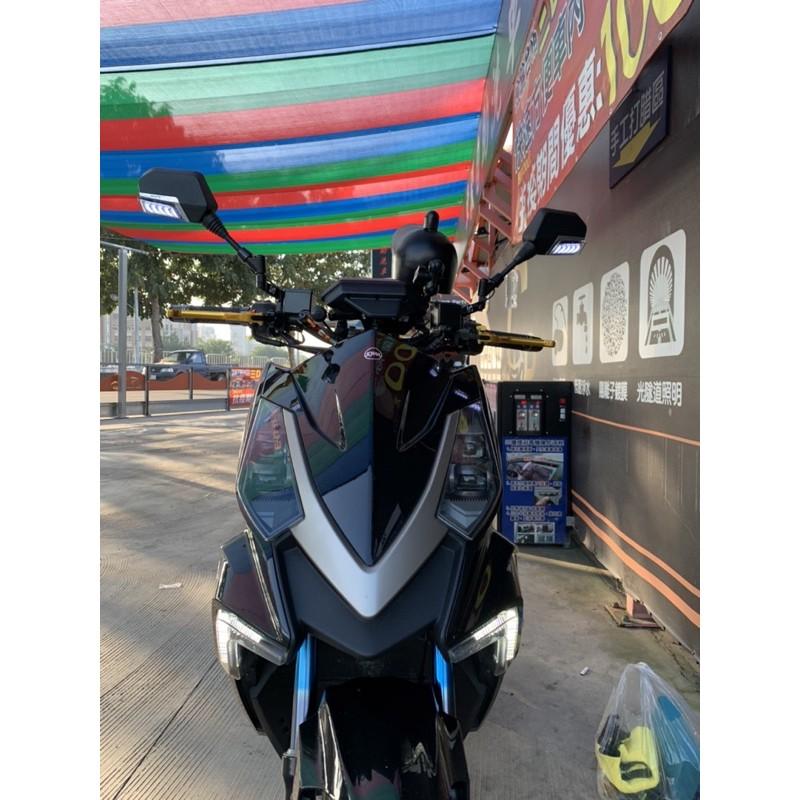 流水方向燈 序列 後視鏡JY007-M 迎賓燈 藍鏡 後照鏡 方向燈後照鏡 方向燈後視鏡 機車後視鏡 摩托車後照鏡