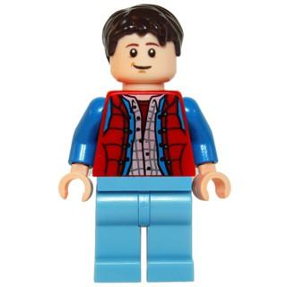 樂高人偶王 LEGO 回到未來#21103 idea001 Marty