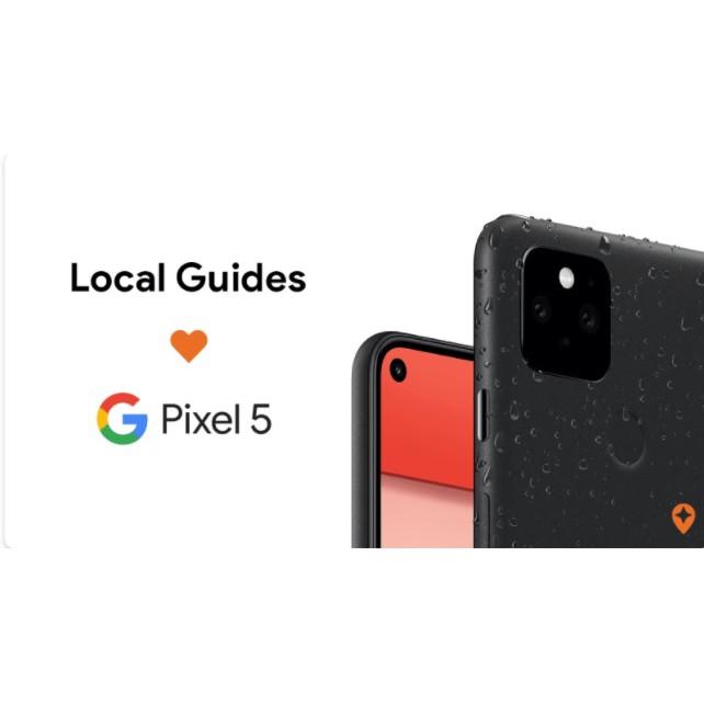優惠不必等雙11 Google Pixel 5在地嚮導 優惠$17,900 請先洽有無現貨訂購 僅限一隻