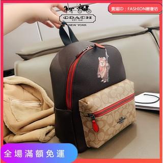COACH迪士尼限量款 熱賣雙肩包 新款男女背包 書包 旅遊包 簡約時尚 台南市
