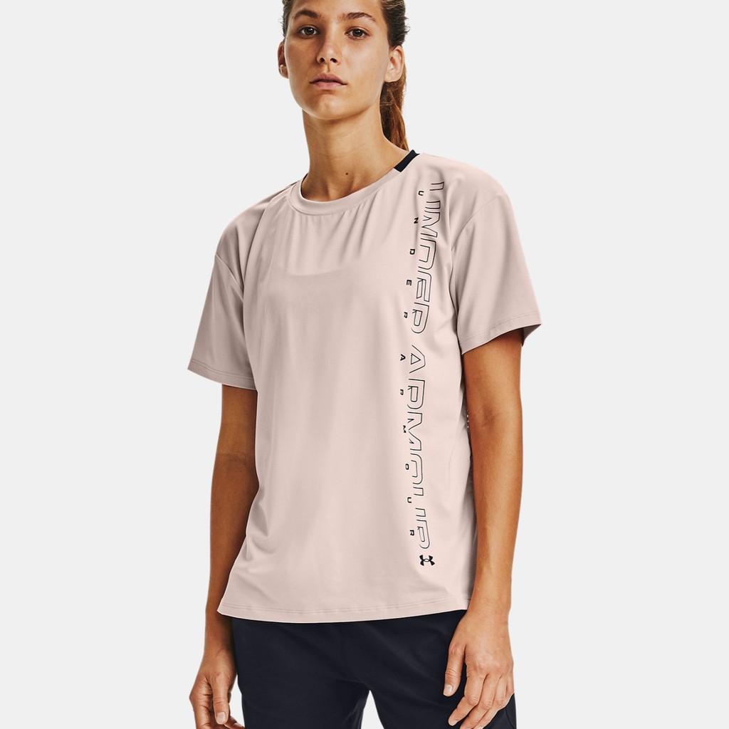 UNDER ARMOUR 短袖 排汗衫 女款 / 1356301-679 / 運動達人