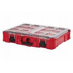 Milwaukee 米沃奇/ 美沃奇 48-22-8430 配套智能收納箱 大 可堆疊 工具箱 工具盒