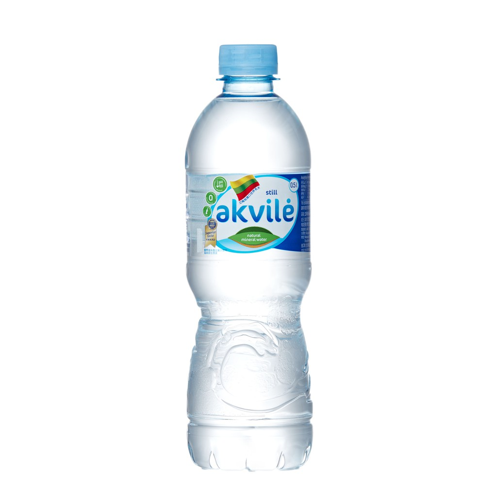 愛可麗天然鹼性礦泉水500ml