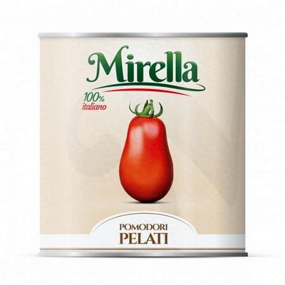Mirella 義大利剝皮蕃茄粒 ►郁盛餐飲設備有限公司◄