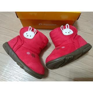 MoonStar 日本Carrot 可愛免雪靴款 紅色 13.5 日本健康機能童鞋 學步鞋 機能鞋 寶寶鞋 新北市