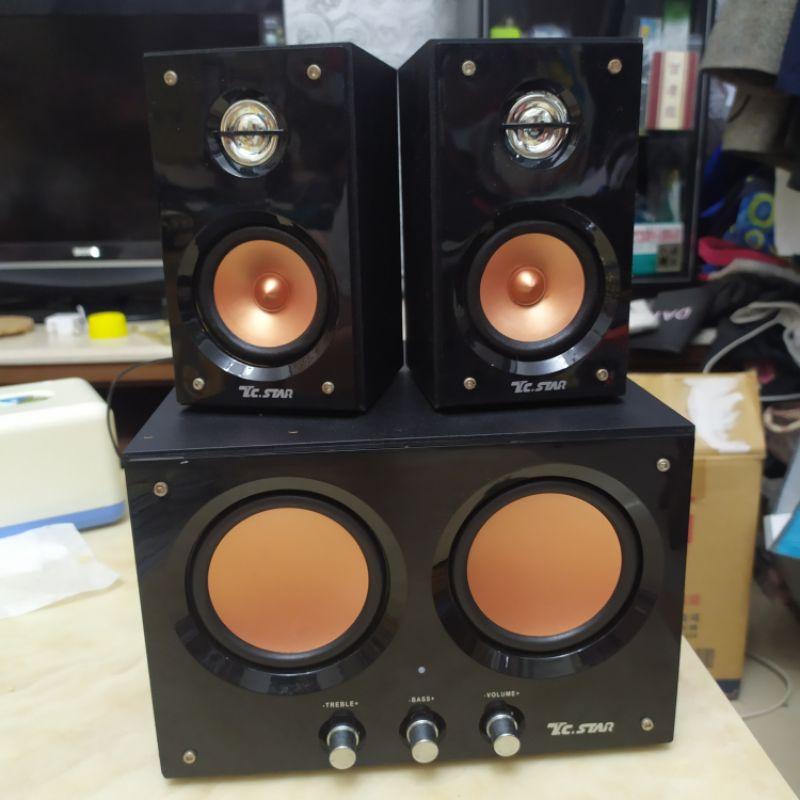 Tc.star音響 喇叭 擴大機 電腦多媒體喇叭 TCS3220