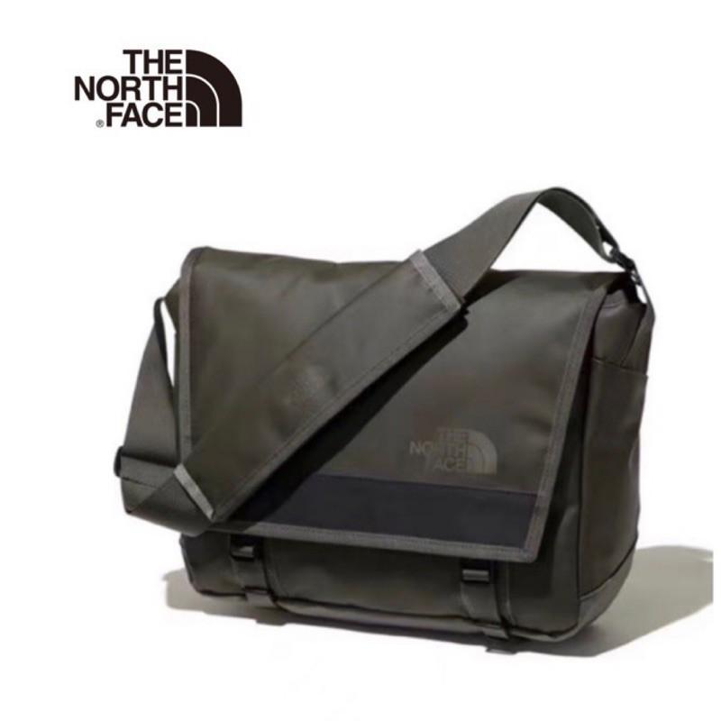 日本代購THE NORTH FACE BC MESSENGER BAG  北面14L郵差包 3m 反光拼條 pu革防水