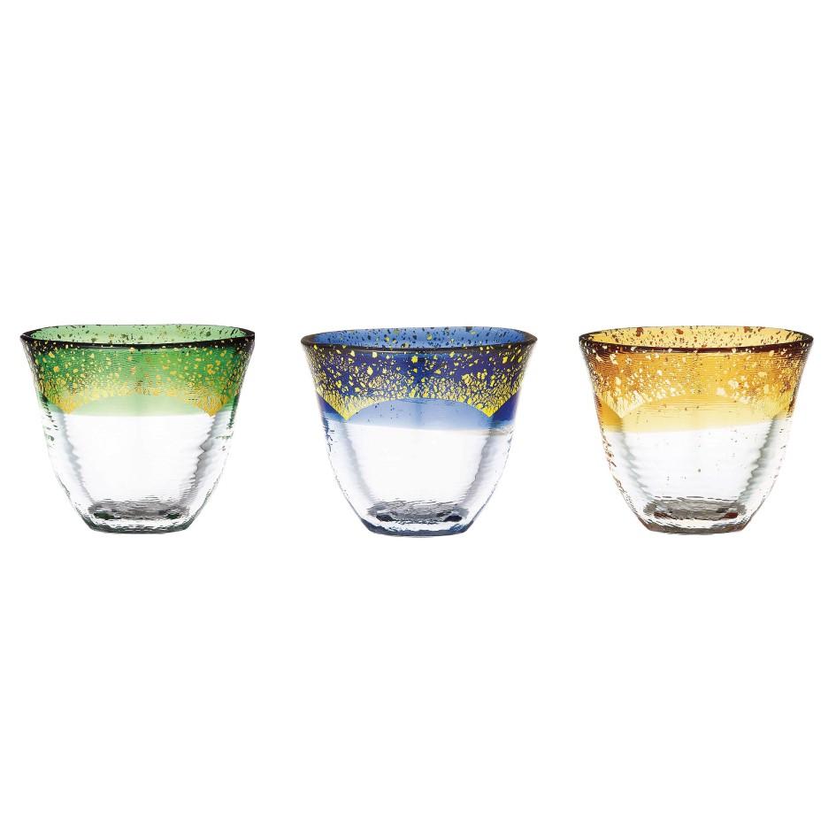 【日本TOYO-SASAKI】 手作耐熱金箔燒酒杯 - 共3款《WUZ屋子》