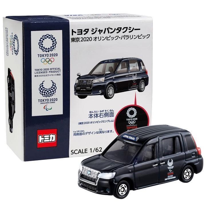 現貨// 日本 東京奧運TOYOTA日本計程車-TOMICA 玩具公仔 車子