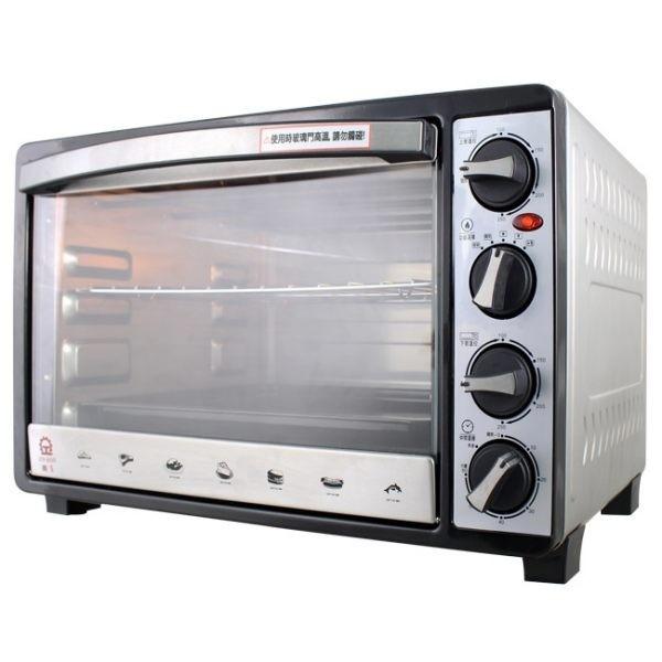 晶工牌 30L雙溫控全不鏽鋼旋風烤箱 JK-7303