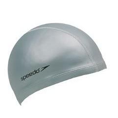 【登瑞體育】SPEEDO 成人合成泳帽 銀/防水/保暖/舒適/好戴/不易夾頭髮_SD8017311731