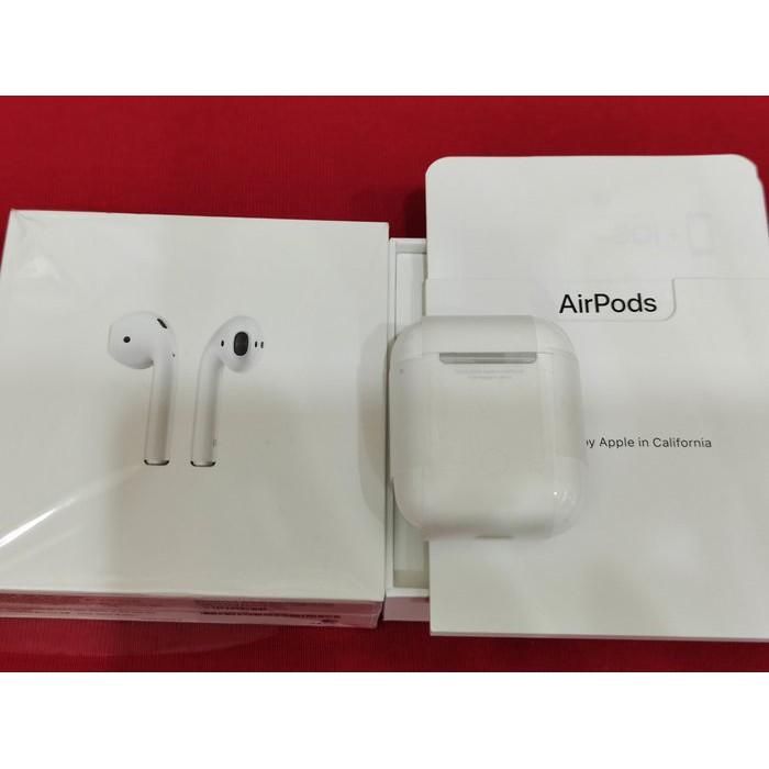 ※聯翔通訊 外觀如新 神腦保固2021/11/13 Apple AirPods2 有線充電版 藍芽耳機 台灣公司貨
