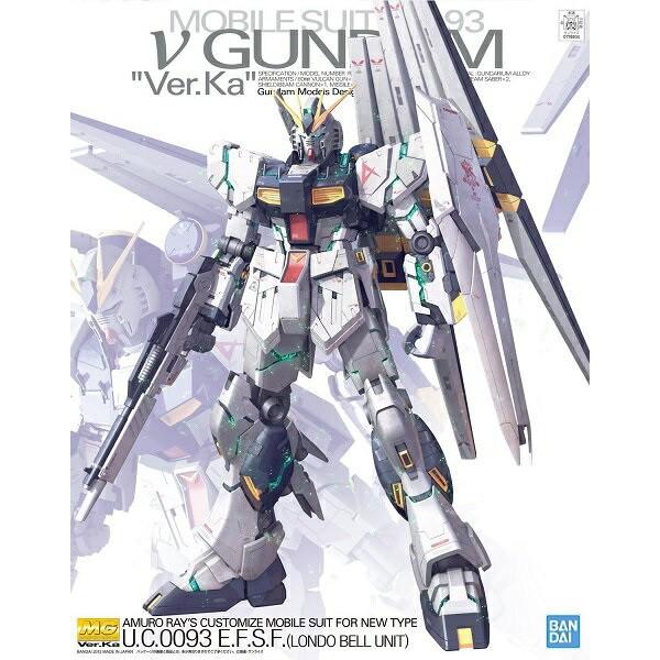 【模霸】現貨 BANDAI 鋼彈 MG 1/100 RX-93 Nu鋼彈 GUNDAM Ver.Ka 牛鋼 卡牛 v鋼彈