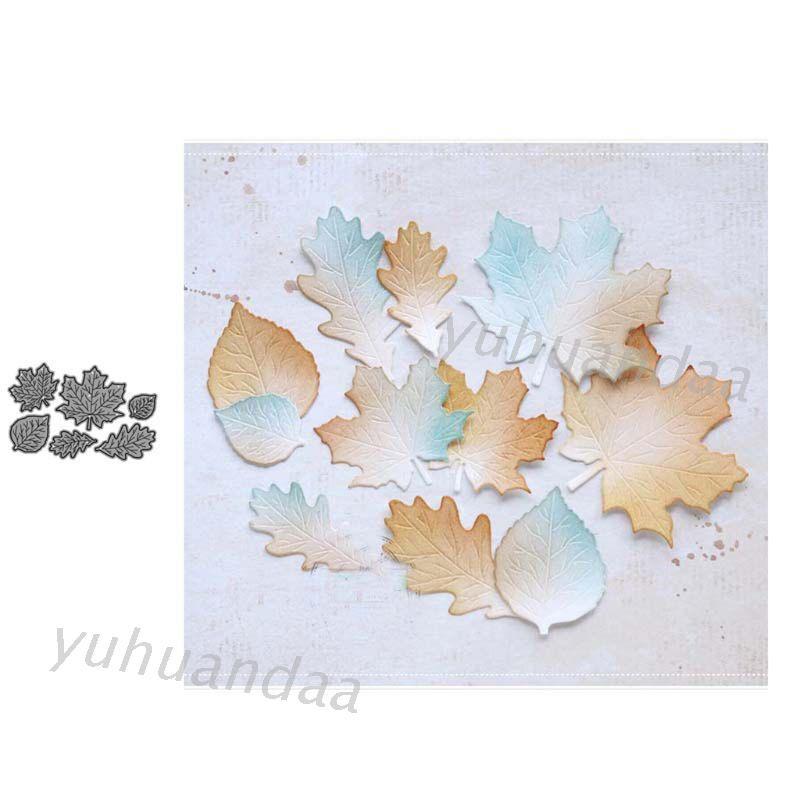 優 * 楓葉金屬切割模具 Diy 剪貼簿紙沖壓模具裝飾