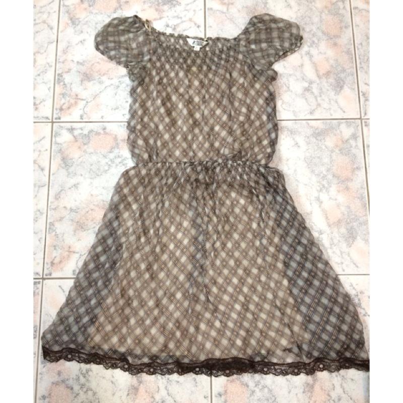 [L號區]專櫃流行秀雪紡洋裝