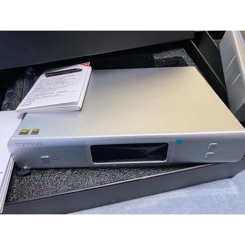 缺貨 停產 拓品 Topping D90 銀色 MQA 解碼器 AK4499 USB DAC前級 可面交