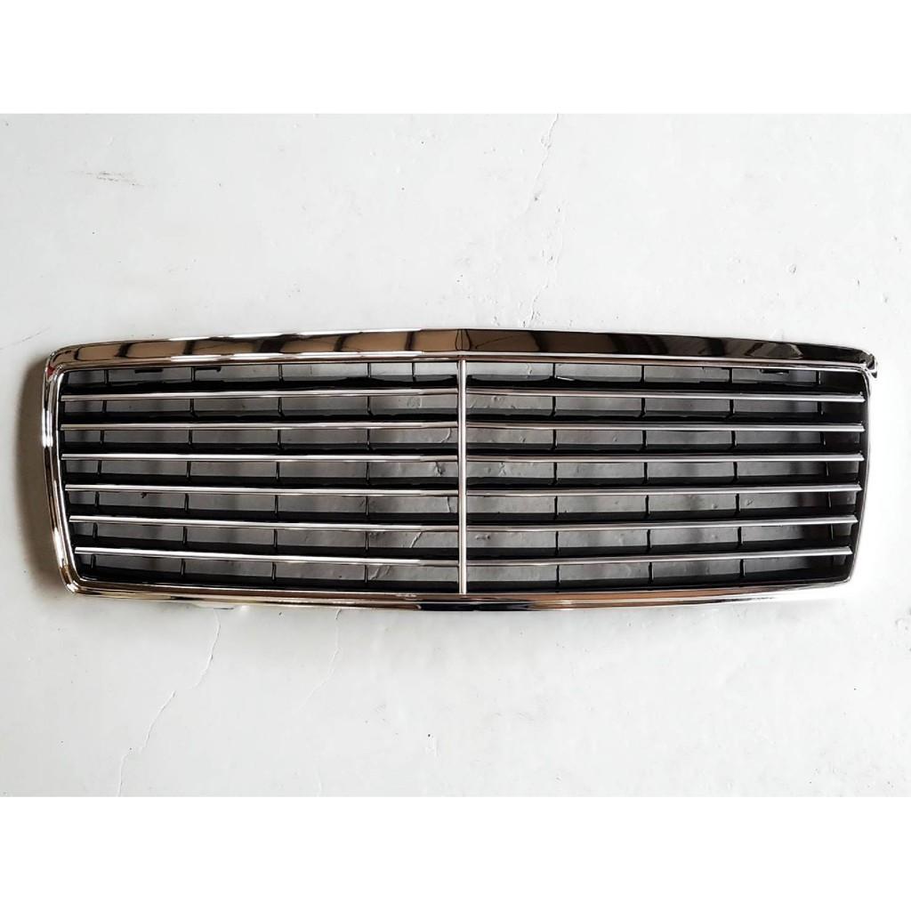 賓士 S-class W140 水箱罩總成 水柵 中網 改裝 電鍍 鍍鉻 含框