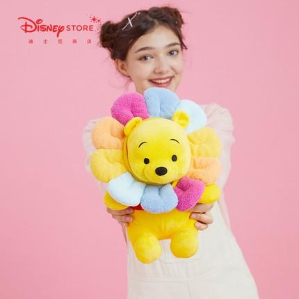 (現貨)[Disney] 上海迪士尼 太陽花/向日葵維尼系列 維尼熊 小熊維尼 維尼 毛絨 娃娃 2021新品