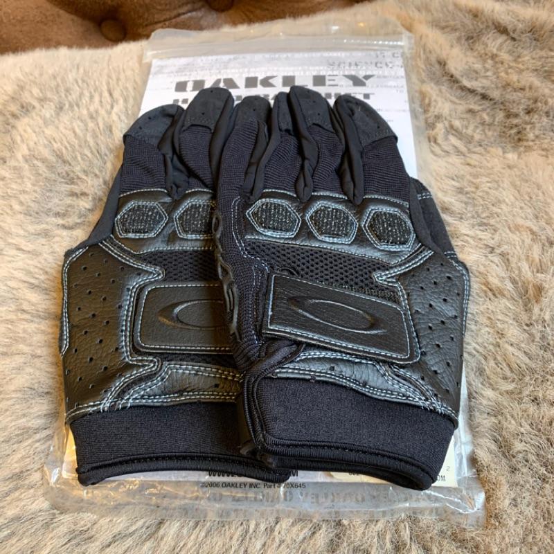 OAKLEY 潮牌精品戰術甲異材皮革長手套(圖片未更新)