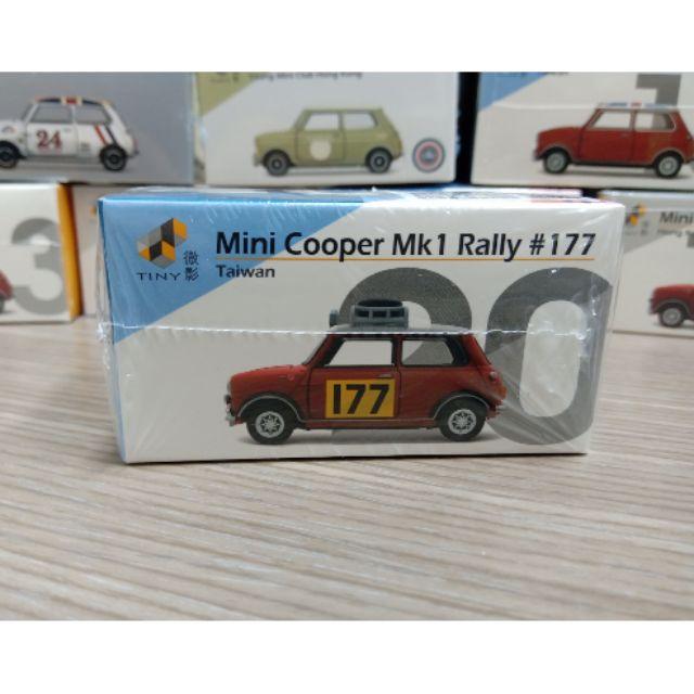 現貨 / Tiny 微影 台灣左駕版本 20號車 mini cooper mk1 rally 177