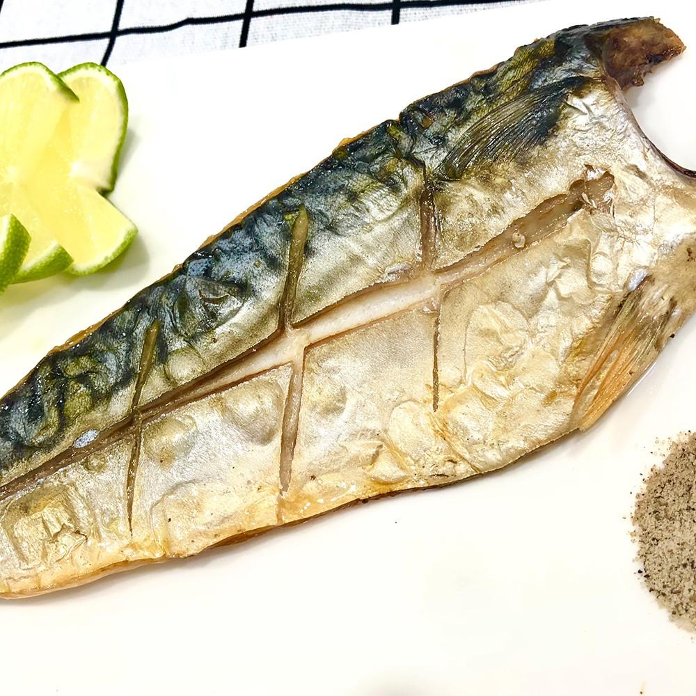 【老張鮮物】正宗挪威薄鹽油嫩鯖魚 (140g~170q/片) 24H出貨