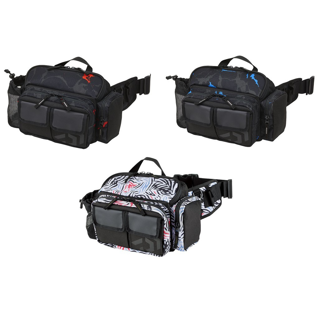 源豐釣具 DAIWA HIP BAG LT(C) 路亞包 木蝦包 軟絲包 背包 腰包(小)