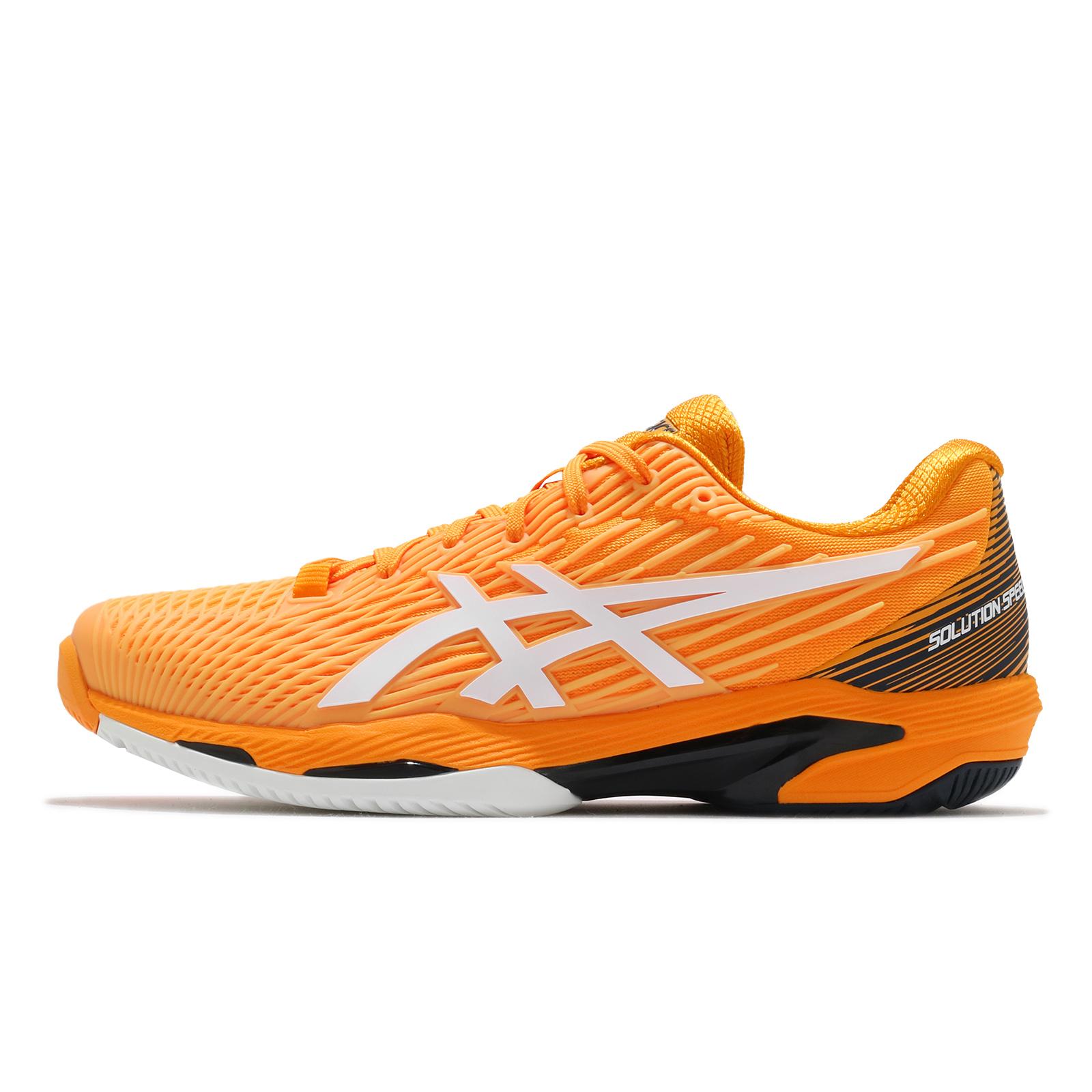 Asics 網球鞋 Solution Speed FF 2 男 黃 速度型 代言款 【ACS】 1041A182-800