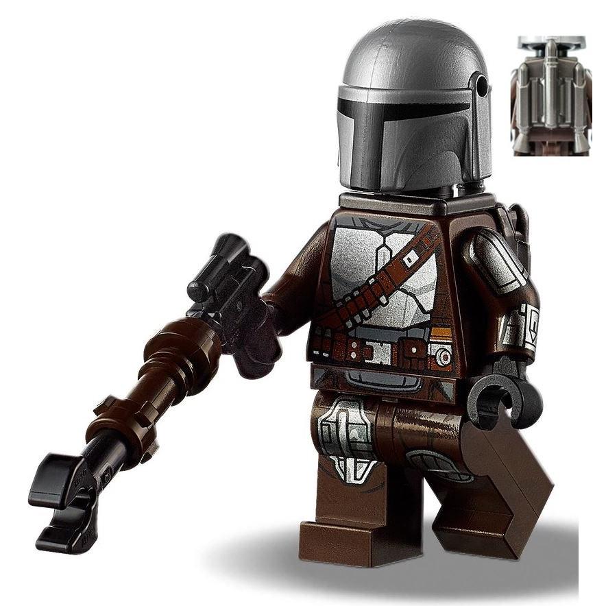 LEGO 75319 拆售 人偶 The Mandalorian (商品如圖片)