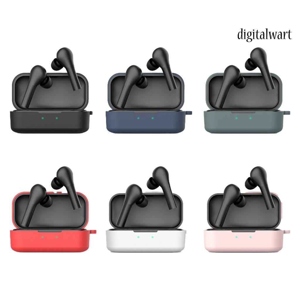 Ee _ 純色軟矽膠無線耳機保護套, 用於 Qcy T5