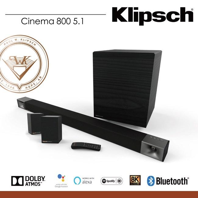(詢問獲得驚喜價) (原廠出貨,訂購前請先留言洽詢貨況🔥) Klipsch Cinema 800 +Surround 3