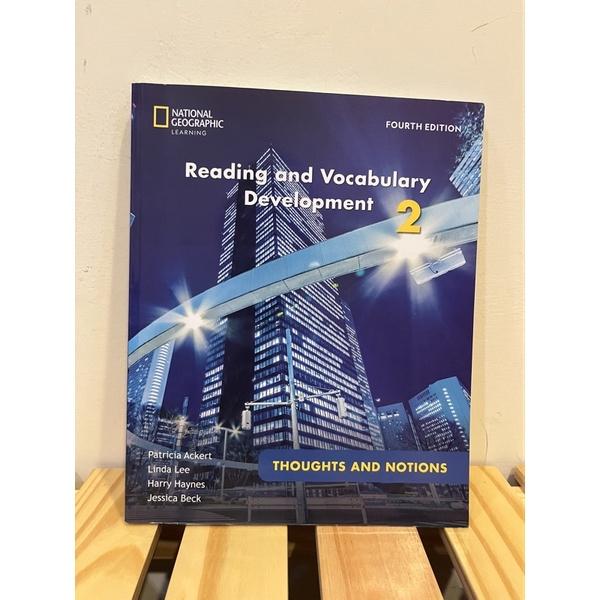 Reading and Vocabulary Development 2