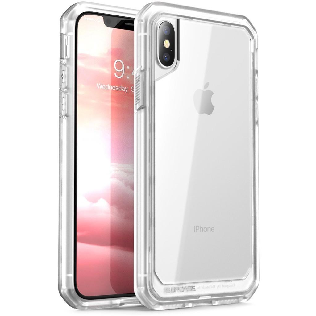 SUPCASE Apple IPhoneX IPhoneXs 5.8吋 超級甲殼 軍規手機保護殼 透明/薄霧