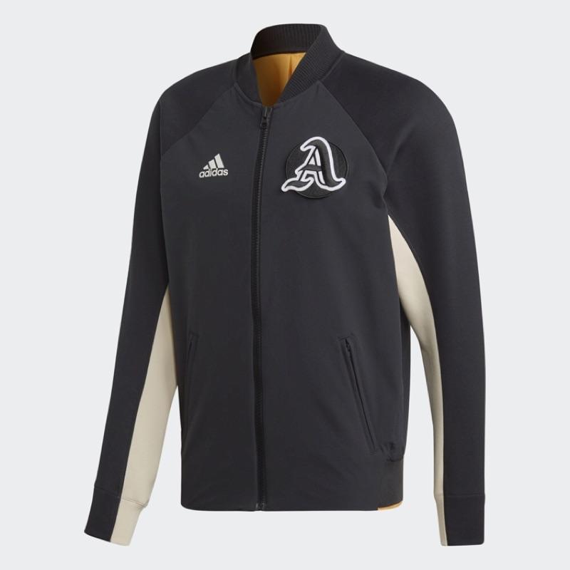 🔥爆走兄弟🔥 ADIDAS VRCT Jacket 復古 運動外套 黑 立領 棒球外套 EA0372 含中華隊 徽章