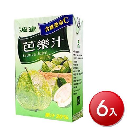 波蜜 芭樂汁(300mlX6包/組)[大買家]