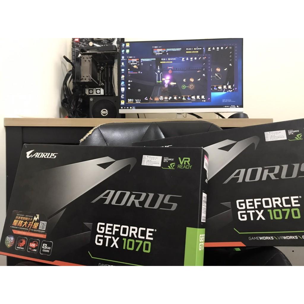 GIGABYTE GeForce GTX 1070 8G Xtreme Gaming (保固內) -請先聊聊