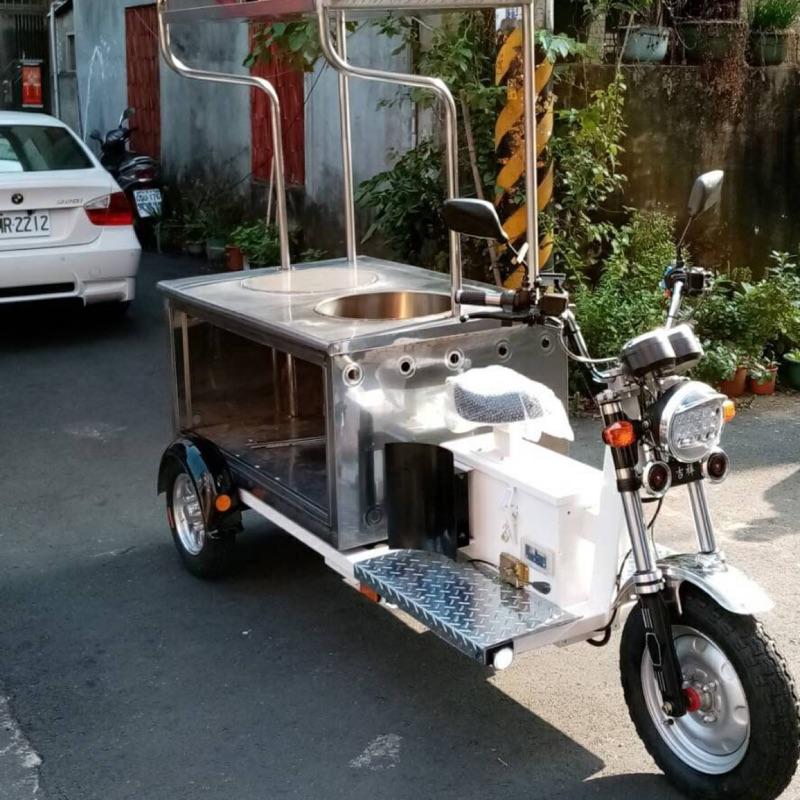 攤車 餐車 移動式攤車 電動攤車 客製化。咖喱飯