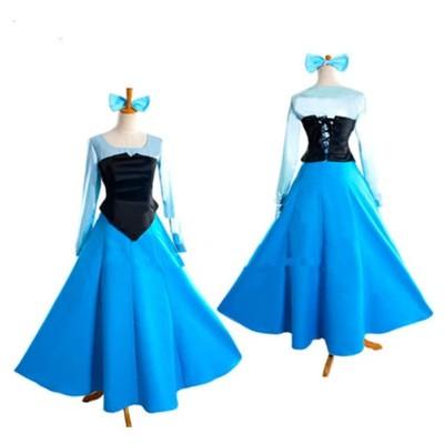 小美人魚女裝 小美人魚cos服 愛麗兒cos服公主裙 cosplay動漫服裝