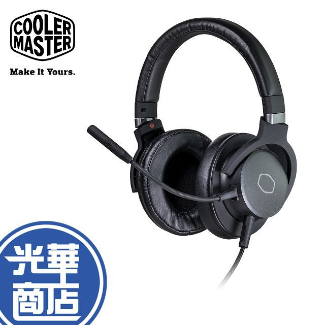 【現貨熱銷】Cooler Master 酷碼 MH751 電競耳機 耳機麥克風 耳麥 耳罩式 皮質 MH 751 公司貨