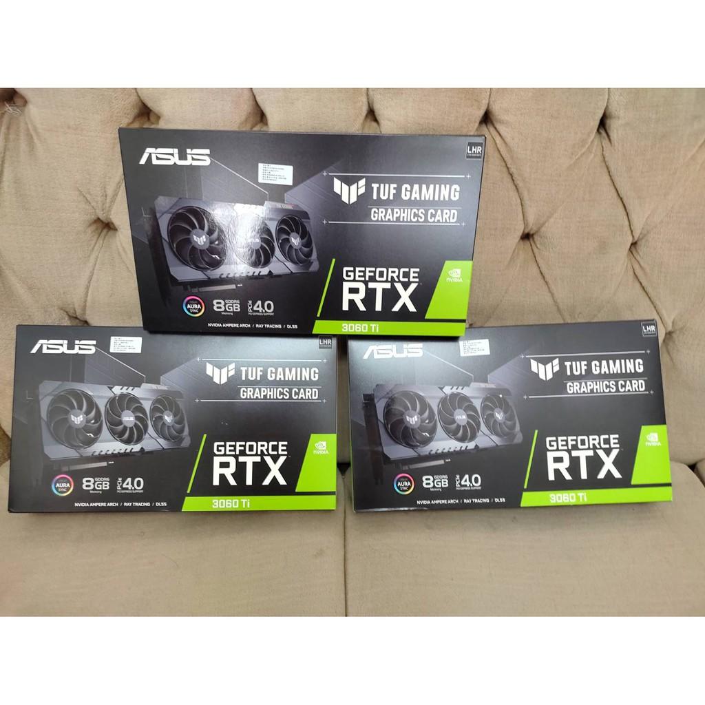 有鎖 全新 未拆封 未註冊 [議價不回] ASUS TUF RTX 3060 TI 8G V2 GAMING
