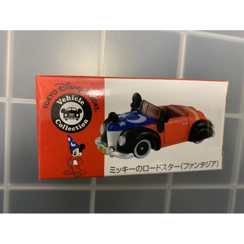 Tomica 日本 樂園限定 迪士尼 米奇 魔法師 魔法法米奇 敞蓬車 全新未拆封