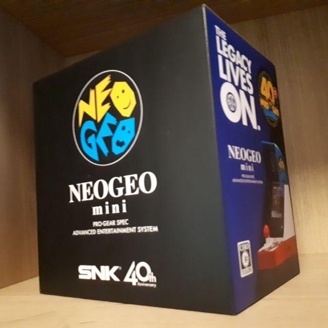 全新現貨 日本帶回 SNK 40周年紀念 NEOGEO Mini NEO GEO迷你遊戲機