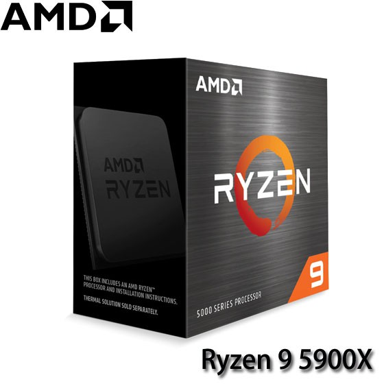 【MR3C】現貨! 含稅公司貨 需搭主機板出貨 AMD超微 Ryzen 9 5900X R9-5900X CPU