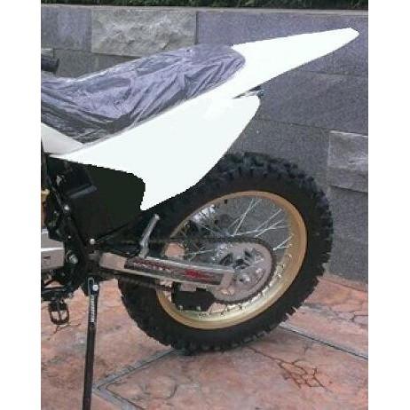 滑胎 越野後土除 三片素材 尾殼尾蓋 SM250 VR150 XR DT KTR KLX KTR 野狼 雲豹 輕檔車可改