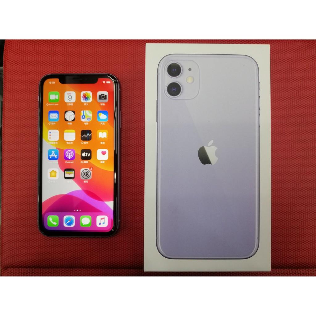 iPhone 11 128g 紫色 6.1吋大螢幕 漂亮保存良好 中古機 二手機 經典款 非I12