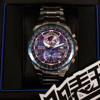 限量版卡西歐全球時間EDIFICE紅牛賽車F1車隊手錶男EFR-550RB-2A 台中市