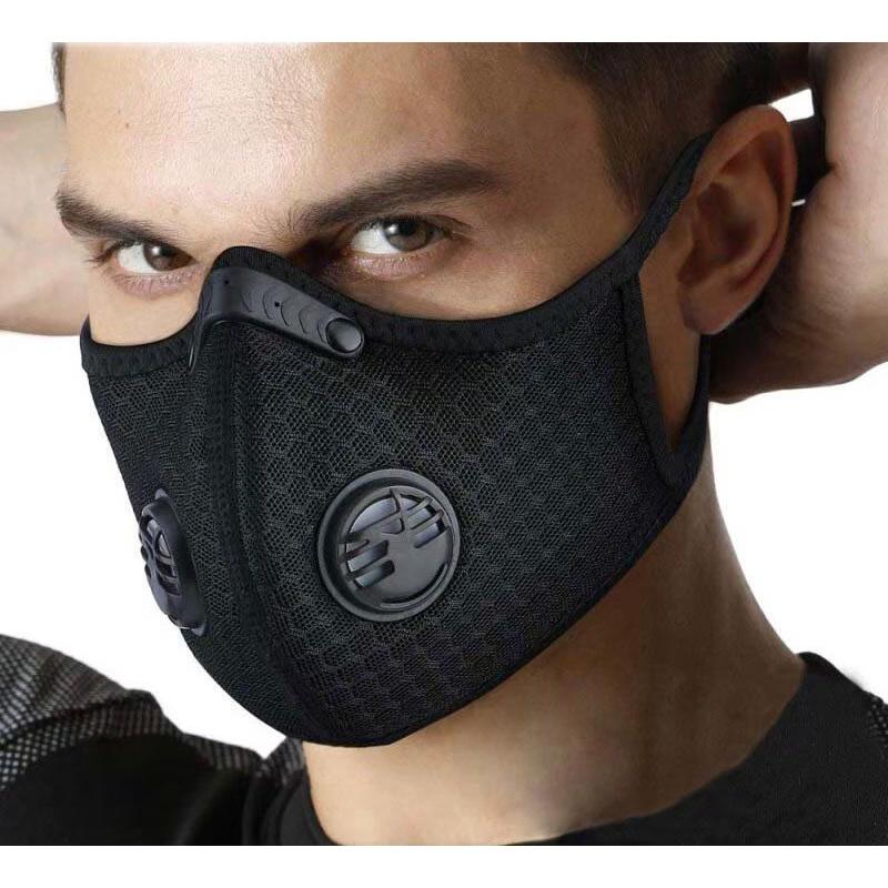 台灣現貨 / 防疫商品 非醫療 呼吸閥門口罩 活性碳防護 可調節鼻翼 阻隔飛沫/濾芯補充包 騎車 運動 魔鬼氈黏式