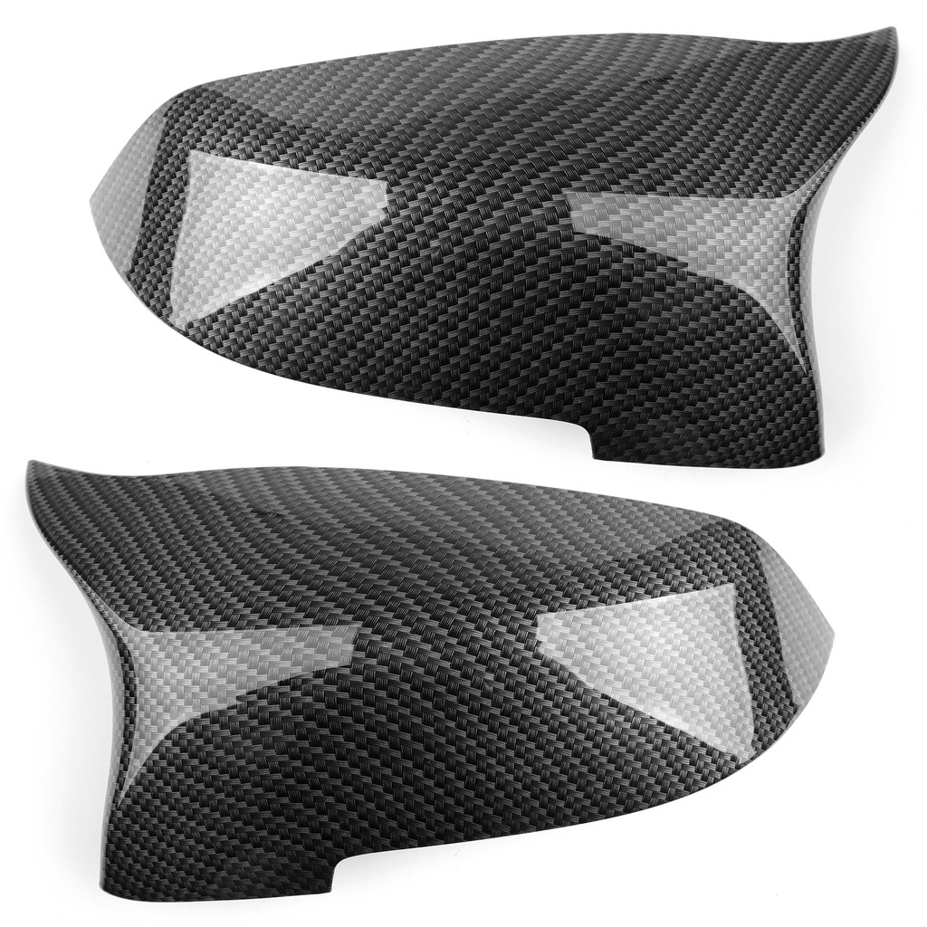 BMW後視鏡蓋適用F10 5系列 2014-2016 Carbon貼紋-極限超快感