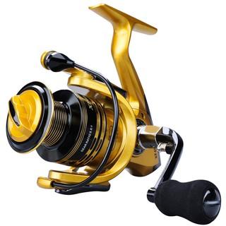 卍✻♗現貨 雙軸超輕 13+1BB全金屬頭捲線器 捲線器 釣魚輪 路亞輪 海竿輪 遠投紡車輪1000-7000型號 釣魚