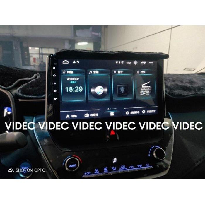 小七的車庫 豐田 19 TOYOTA ALTIS 12代 安卓機 10.1吋 多媒體導航 主控面板 手機同步 台北 汽車
